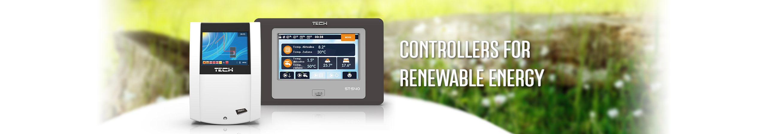 Controllers for renewable energy - TECH Sterowniki