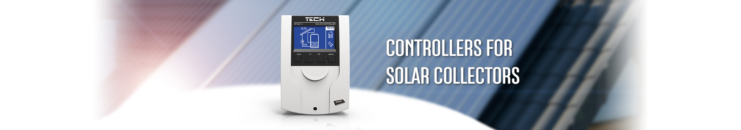 For solar collectors - TECH Sterowniki