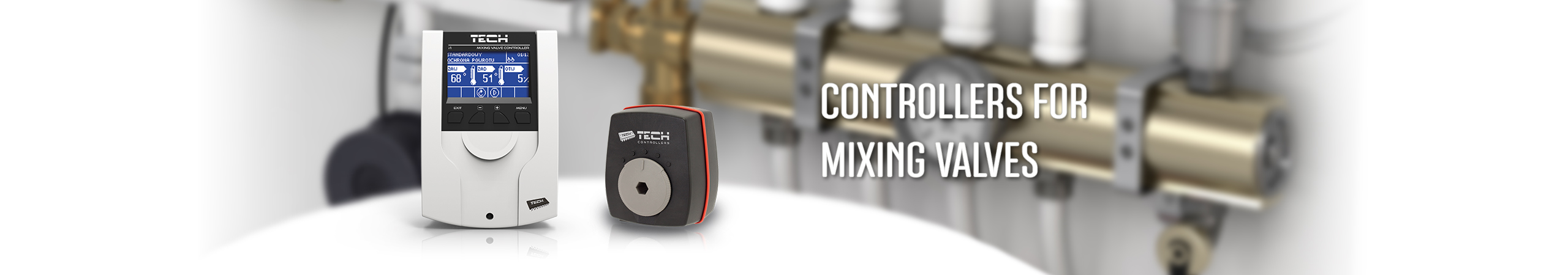 Mixing valves controlers - TECH Controllers - TECH Sterowniki