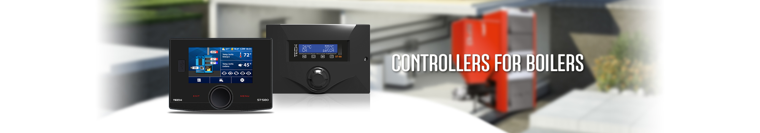 Charging boiler - TECH Sterowniki