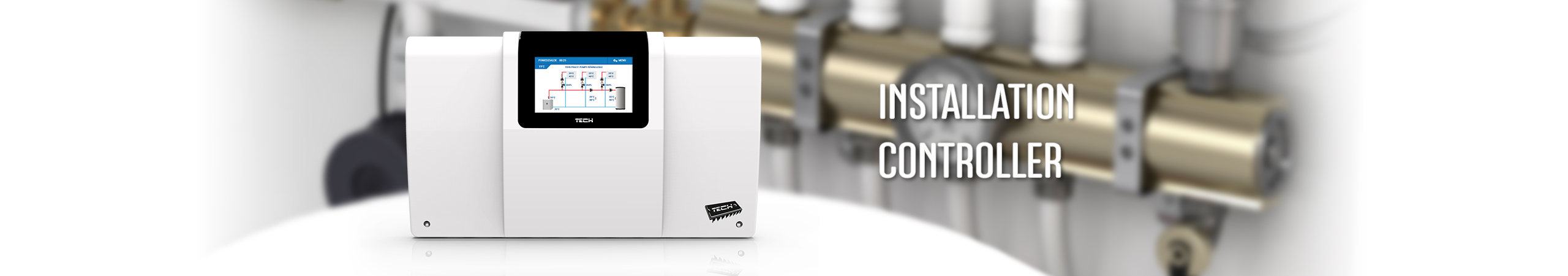 Controllers for heating instalations - TECH Controllers - TECH Sterowniki