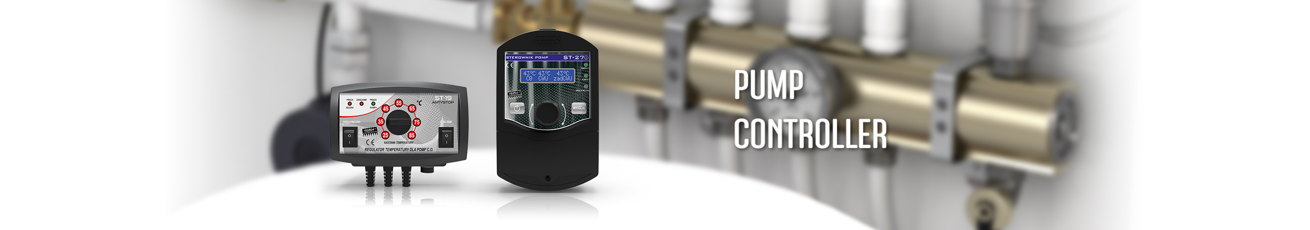 Controllers for central heating pumps - TECH Controllers - TECH Sterowniki