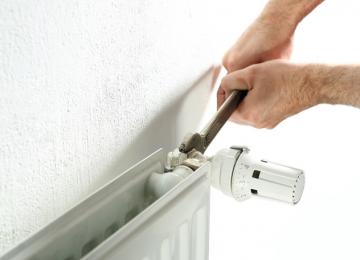 How to regulate radiators?